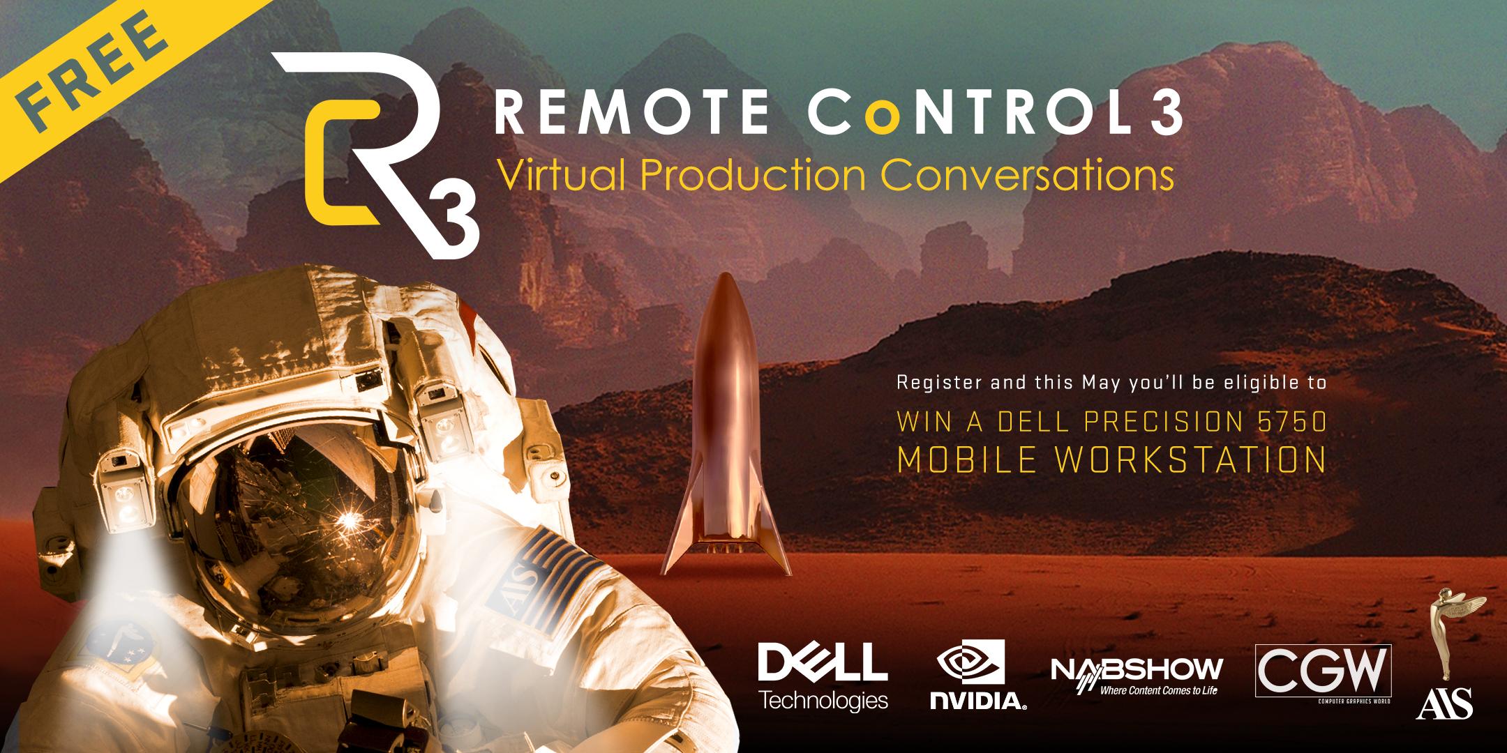 Remote Control 3 Virtual Production Conference